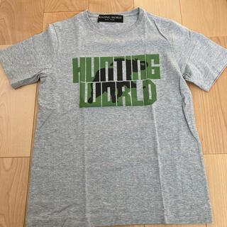 HUNTING WORLD - 【美品】ハンティングワールド Tシャツ M グレー