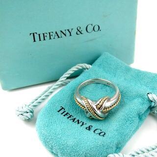 Tiffany & Co. - ティファニー シグネチャー リング 15号 箱袋付き SV925 17-313