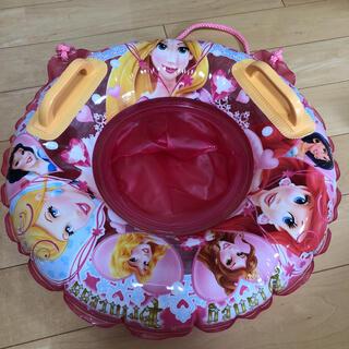 ディズニー(Disney)のディズニープリンセス 浮き輪 足入れ浮き輪  50センチ (マリン/スイミング)