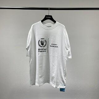 バレンシアガ(Balenciaga)の大人気 バレンシアガ ロゴ Tシャツ(Tシャツ/カットソー(半袖/袖なし))