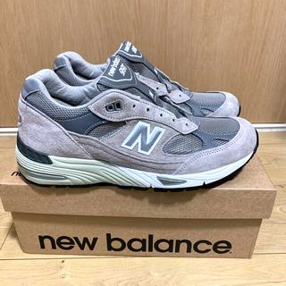 ニューバランス(New Balance)のとりでます様 ニューバランス M991GL  新品未使用(スニーカー)