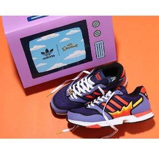 アディダス(adidas)のSIMPSONS × ADIDAS ZX 1000 FLAMING MOES(スニーカー)