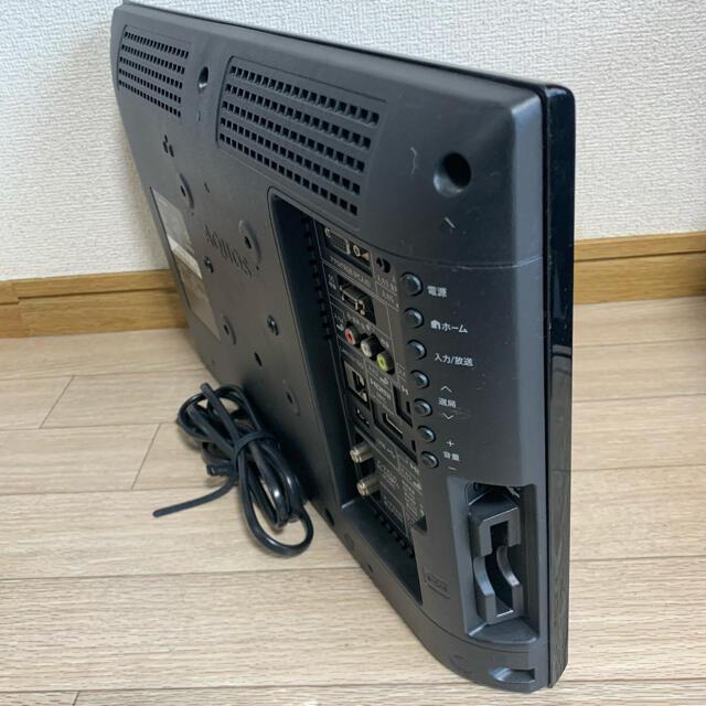 SHARP(シャープ)のシャープ AQUOS アクオス 19インチテレビ LC-19K90 2013製 スマホ/家電/カメラのテレビ/映像機器(テレビ)の商品写真