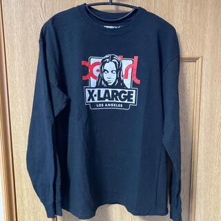 エクストララージ(XLARGE)のエクストララージ×エックスガール×草間彌生 トリプルネーム ロンT(Tシャツ/カットソー(七分/長袖))