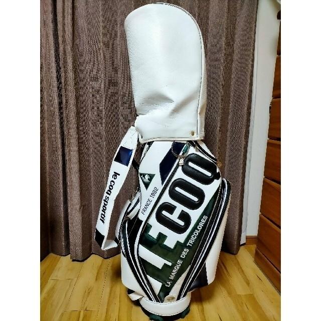 le coq sportif(ルコックスポルティフ)のルコック キャディバッグ スポーツ/アウトドアのゴルフ(バッグ)の商品写真