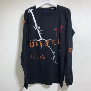 DIESEL - DIESEL ディーゼル ロゴ ロング Tシャツ M L