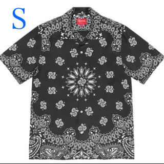 Supreme - supreme Bandana Silk S/S Shirt