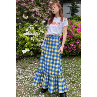 エイミーインザバッティーガール(Aymmy in the batty girls)のdearsisterhood Groovy Print Long Skirt(ロングスカート)