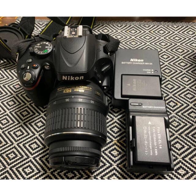 Nikon(ニコン)のあきにゃん様専用 Nikon D5100 スマホ/家電/カメラのカメラ(デジタル一眼)の商品写真