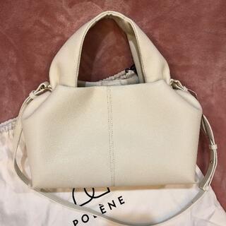 TOMORROWLAND - polene バッグ 完売カラー ホワイト