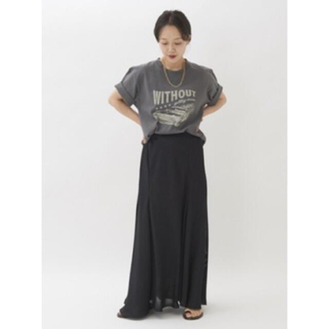 Plage(プラージュ)の新品タグ付き 今期 plage プラージュ カラミギャザースカート レディースのスカート(ロングスカート)の商品写真