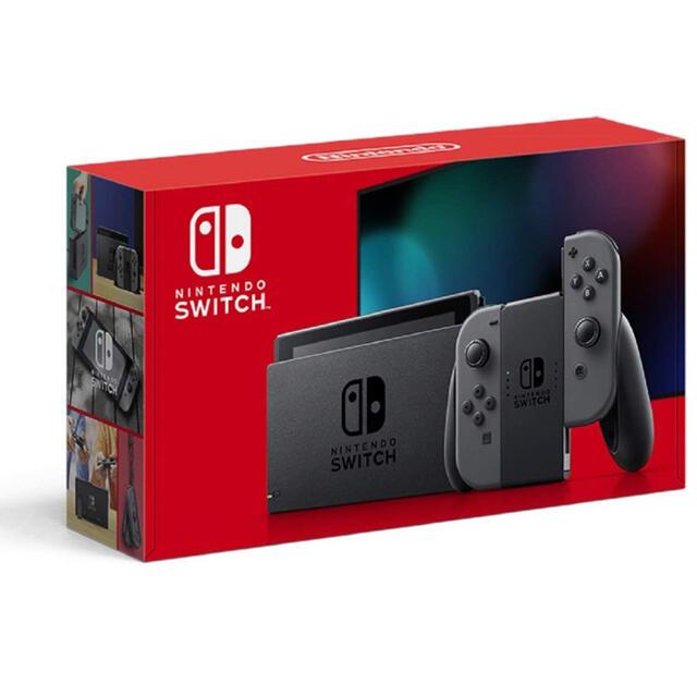 Nintendo Switch(ニンテンドースイッチ)のニンテンドー スイッチ グレー 新モデル 新品未使用 エンタメ/ホビーのゲームソフト/ゲーム機本体(家庭用ゲーム機本体)の商品写真