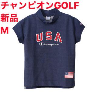 チャンピオン(Champion)の新品M  チャンピオン GOLF ウィメンズ モックネックシャツ(ウエア)