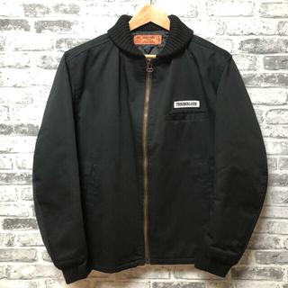 TENDERLOIN - TENDERLOIN テンダーロイン リブワークジャケット Lサイズ ブラック
