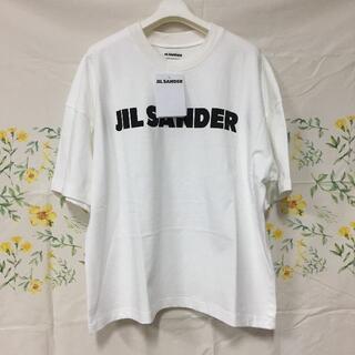 ジルサンダー(Jil Sander)のJIL SANDER ジルサンダー ロゴ T シャツ Sサイズ(Tシャツ/カットソー(半袖/袖なし))