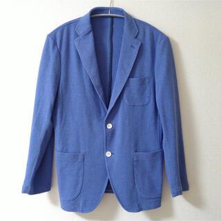ボリオリ(BOGLIOLI)のミダ MIDA テーラードジャケット Blue size48 スウェット生地(テーラードジャケット)