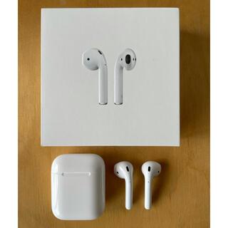 Apple - 【AirPods】第2世代 エアーポッズ イヤフォン アップル