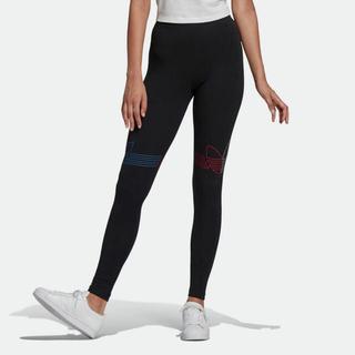 アディダス(adidas)のadidas トリコロールタイツ レディースL(レギンス/スパッツ)