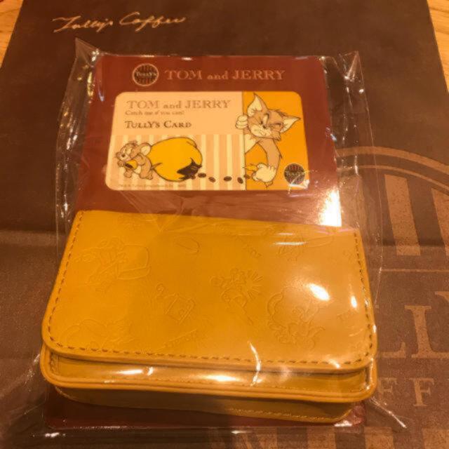 TULLY'S COFFEE(タリーズコーヒー)のTully's Coffee タリーズ トムとジェリー コラボ  エコバッグ エンタメ/ホビーのコレクション(ノベルティグッズ)の商品写真