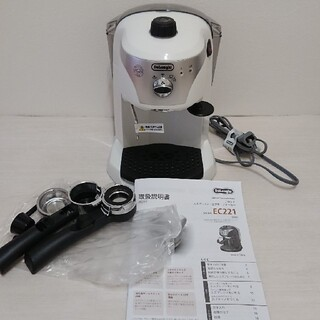 デロンギ(DeLonghi)のデロンギエスプレッソメーカーEC221(エスプレッソマシン)