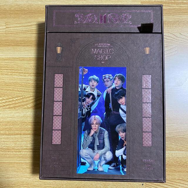 防弾少年団(BTS)(ボウダンショウネンダン)のBTS DVD MAGIC SHOP 日本語字幕付き エンタメ/ホビーのCD(K-POP/アジア)の商品写真