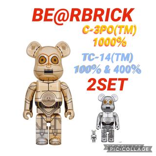 MEDICOM TOY - BE@RBRICK C-3PO(TM) TC-14(TM) 3セット