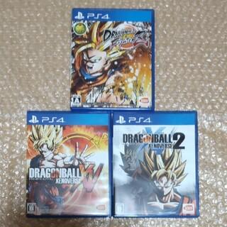 バンダイナムコエンターテインメント(BANDAI NAMCO Entertainment)のPS4 ドラゴンボール 3作品セット ファイターズ、ゼノバース(家庭用ゲームソフト)