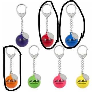 AAA - AAA Party会員限定 サインボール キーホルダー 赤、青、橙 まとめ売り