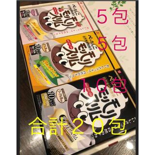 ハーブ健康本舗モリモリスリム3種類 合計20包(健康茶)