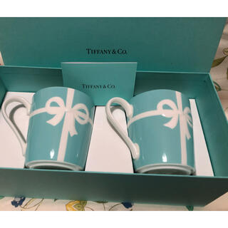 Tiffany & Co. - ティファニー   ブルーボックス ペアカップ