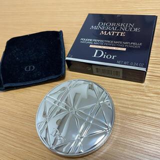 Christian Dior - DIOR ディオール ミネラルヌードマットパウダー 01