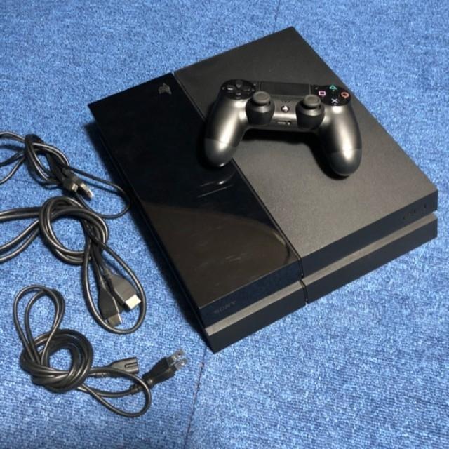 PlayStation4(プレイステーション4)のこう様専用 プレイステーション4 本体 ジェットブラック CUH-1000 エンタメ/ホビーのゲームソフト/ゲーム機本体(家庭用ゲーム機本体)の商品写真