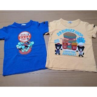 ダブルビー(DOUBLE.B)のダブルB Tシャツ 100 男の子 ミキハウス(Tシャツ/カットソー)