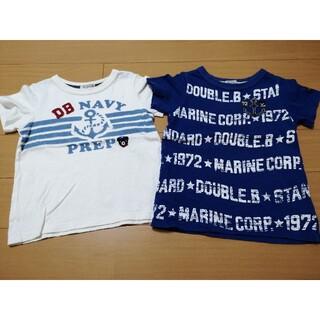 ダブルビー(DOUBLE.B)のダブルB ミキハウス 100 男の子 Tシャツ(Tシャツ/カットソー)