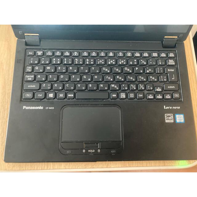 Panasonic(パナソニック)の中古ノートPC_Panasonic_Let's note CF-MX5_ブラック スマホ/家電/カメラのPC/タブレット(ノートPC)の商品写真