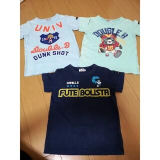 ダブルビー(DOUBLE.B)のミキハウス ダブルB Tシャツ 男の子 100(Tシャツ/カットソー)