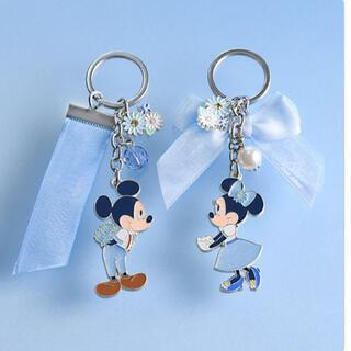 Disney - ディズニーリゾート キーチェーン ブルーエバーアフター