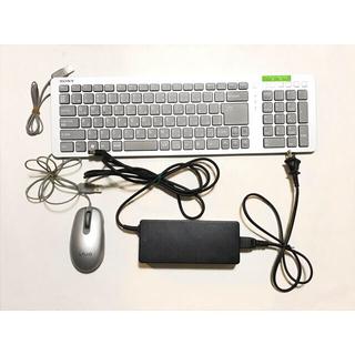 ソニー SONY バイオ VAIO キーボード マウス ACアダプター セット(PC周辺機器)