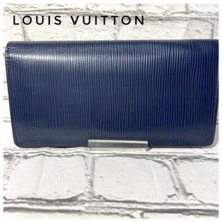 ルイヴィトン(LOUIS VUITTON)の【美品】LOUIS VUITTON・ルイヴィトン・LV・長財布 ユニセックス(長財布)