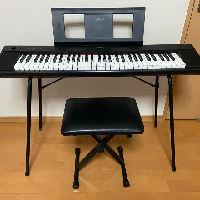 ヤマハ(ヤマハ)のYAMAHA電子ピアノ piaggero(ピアジェーロ) NP-12 楽器の鍵盤楽器(電子ピアノ)の商品写真
