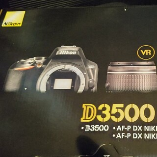 Nikon - 新品 Nikon デジタル一眼レフカメラ D3500 ダブルズームキット WK