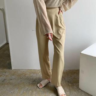 Amiur ストレートロングパンツ straight long pants