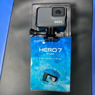 GoPro -  【ほぼ未使用】  GoPro HERO7 Silver アクションカメラ 4K