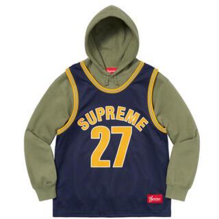 Supreme - supreme Basketball Jersey Hooded Sweat