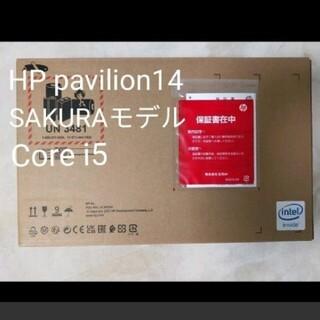 HP - ★新品未開封 保証書付 HP  pavilion14 サクラモデル corei5