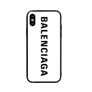 バレンシアガ(Balenciaga)のバレンシアガ ガラスケース iPhoneケース (iPhoneケース)