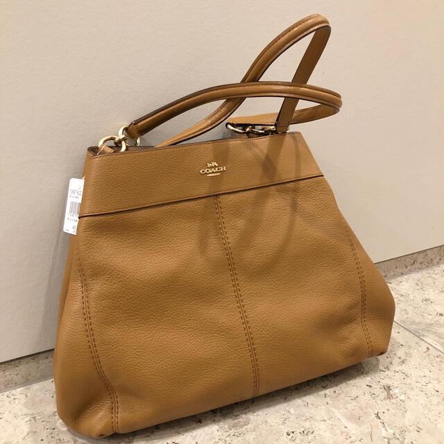 COACH(コーチ)の【新品未使用】COACHコーチトートバッグ茶色 レディースのバッグ(トートバッグ)の商品写真