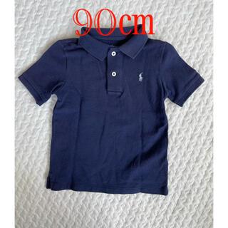 ラルフローレン(Ralph Lauren)のネイビー半袖ポロシャツ 90㎝(Tシャツ/カットソー)