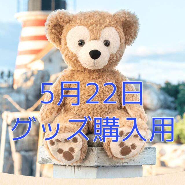 Disney(ディズニー)の5月22日 グッズ購入用チケット ディズニーシー エンタメ/ホビーのおもちゃ/ぬいぐるみ(キャラクターグッズ)の商品写真