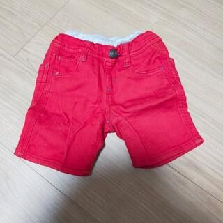 ブリーズ(BREEZE)のブリーズ ハーフパンツ 赤 90cm(パンツ/スパッツ)